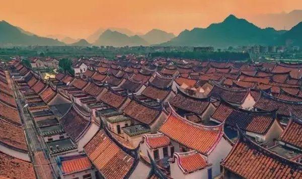 旅游景点龙海埭尾村
