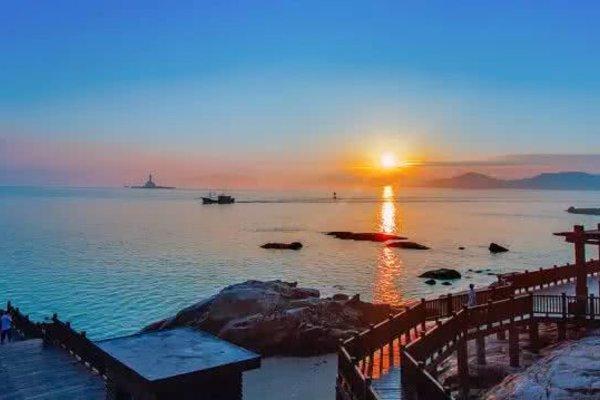 旅游景点东山岛