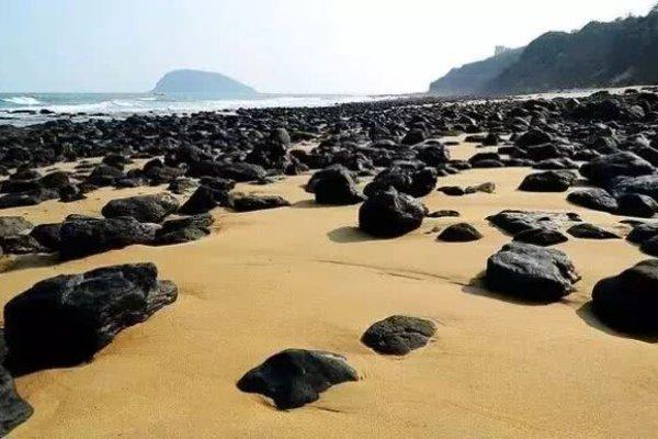 旅游景点火山岛